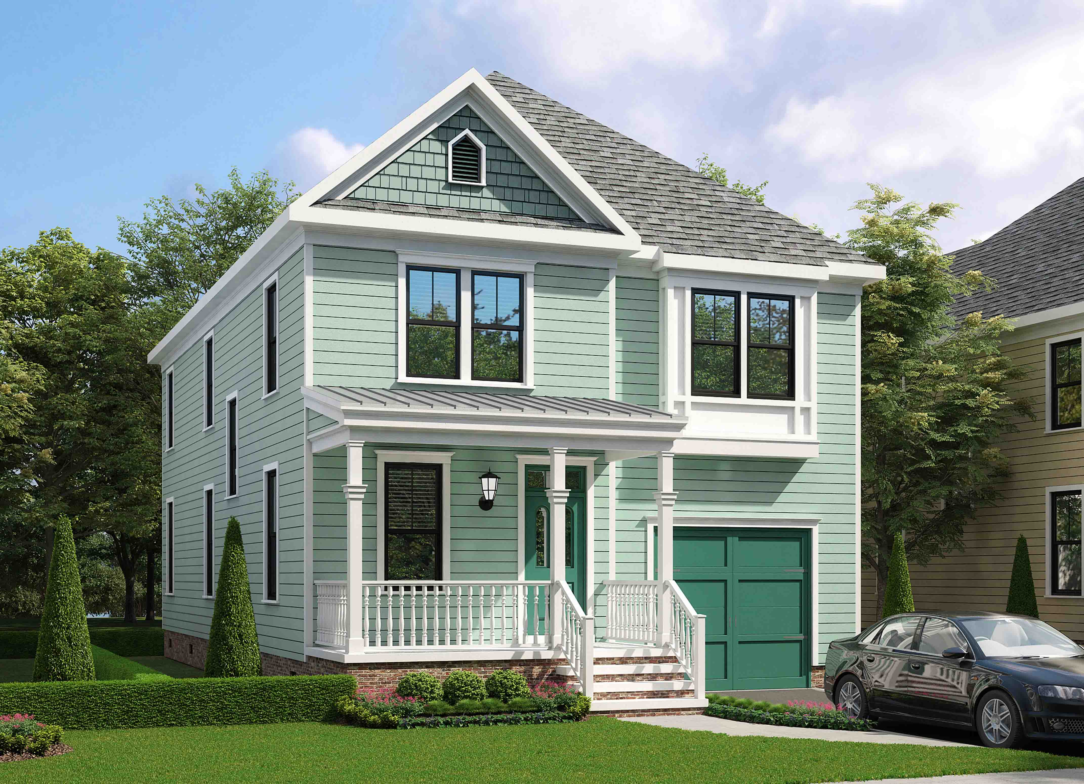 Front View image of Gabriella House Plan