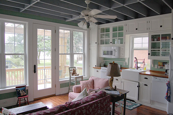 Katrina Cottage Main Area by DFD House Plans