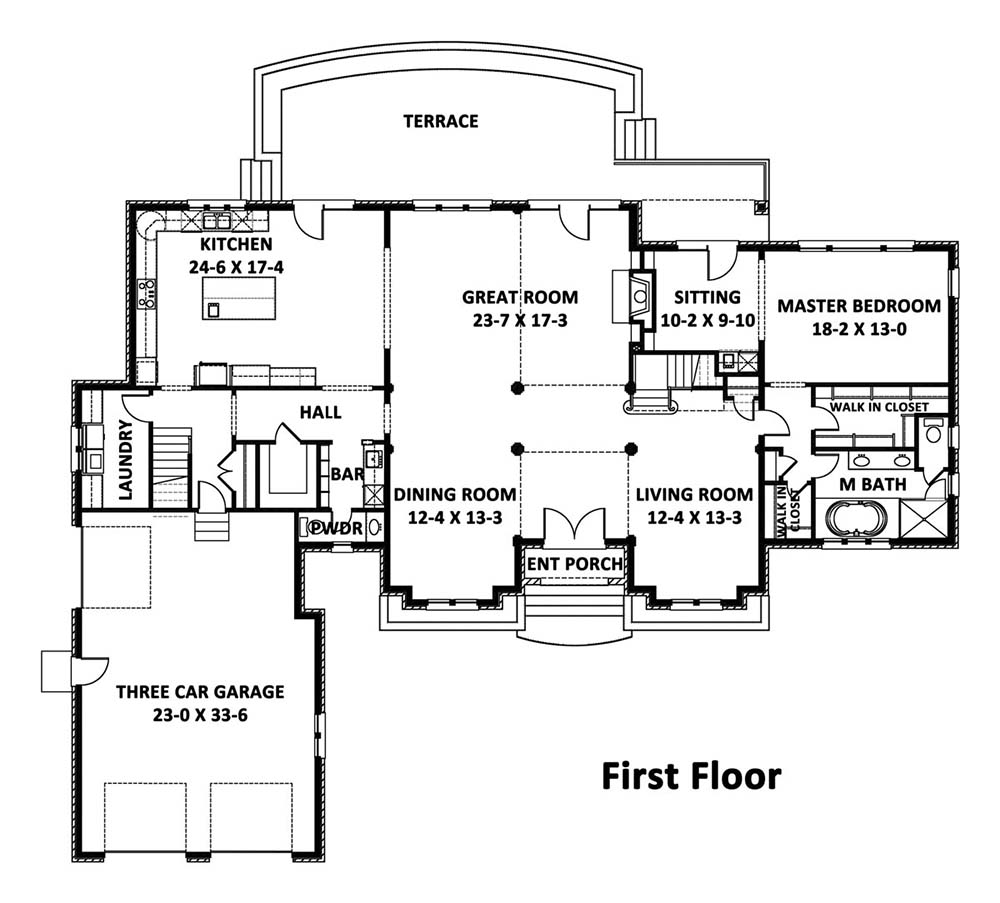 House prairie curlew house plan green builder house plans for Prairie home floor plans