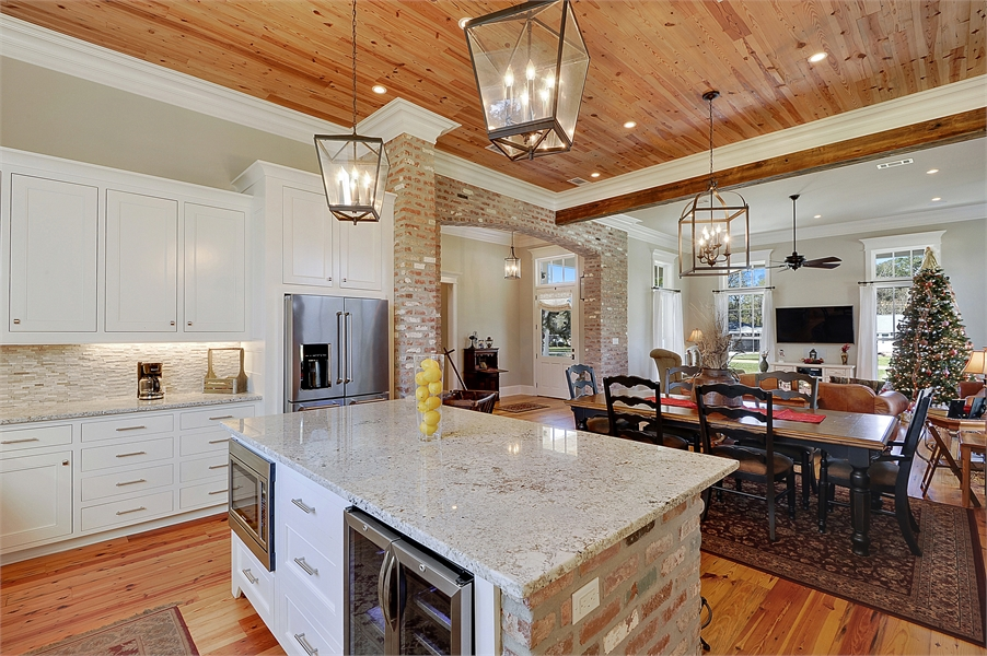 Kitchen and Dining by DFD House Plans