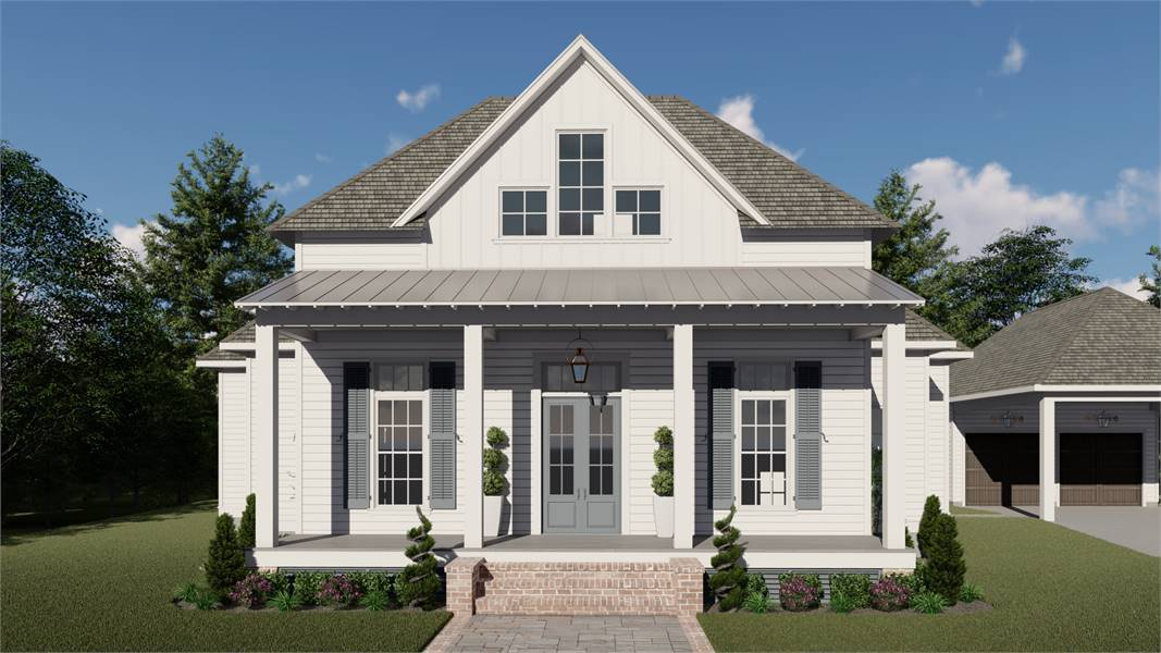 13 Best House Plans with Carports - DFD House Plans Blog Narrow House Plans With Carport on narrow lot house plans with garage, narrow house plan with pantry, ranch house plans with carport, ranch style home with carport, narrow house plan with courtyard, narrow craftsman house plans,