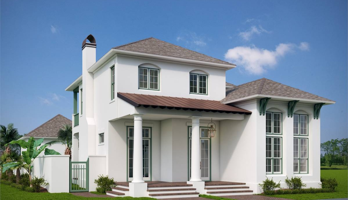 Front View image of Annabel Drive House Plan