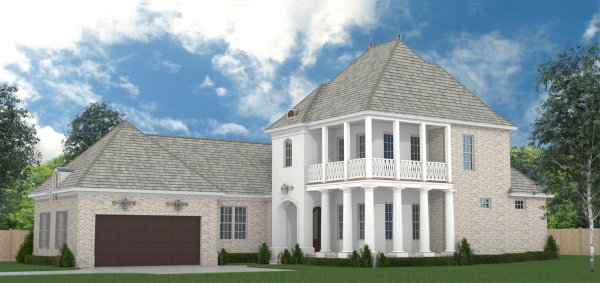 Front Rendering image of Daisy Drive House Plan
