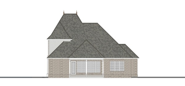 Rear Elevation image of Daisy Drive House Plan