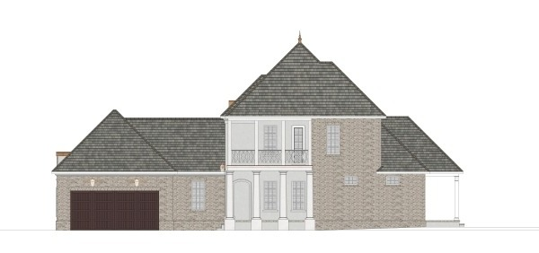 Right Elevation image of Daisy Drive House Plan