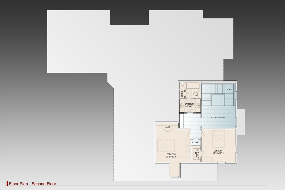 2nd Floor image of Le Pierre House Plan