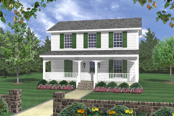 Front Elevation image of The Juniper Cove House Plan