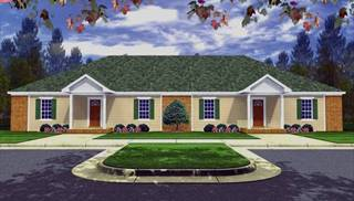 Duplex Home Designs and Ideas by DFD House Plans