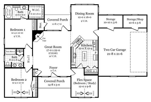 Floorplan by DFD House Plans
