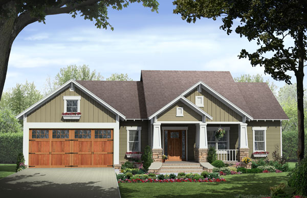 Front Elevation image of The Wilson Creek House Plan