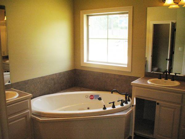 Interior View - Master Bath by DFD House Plans