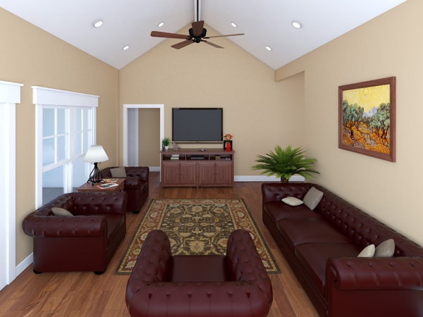 Interior View - Great Room image of Westwood Park House Plan