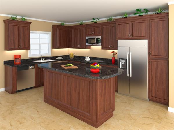Interior View - Kitchen
