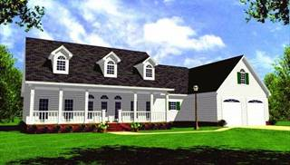 Farmhouse Style Floor Plans by DFD House Plans
