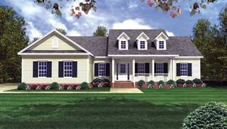 Cape Cod Home Designs by DFD House Plans