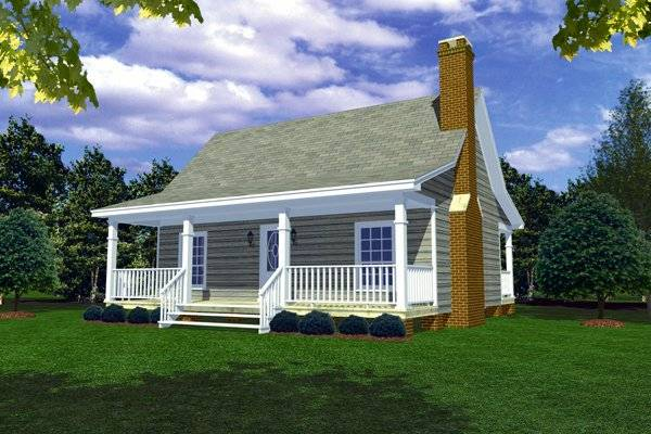 Front Elevation by DFD House Plans
