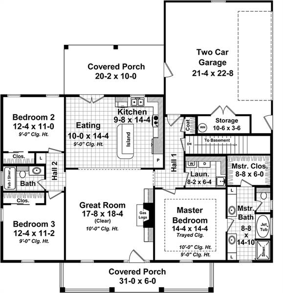 Floor Plan 2 by DFD House Plans