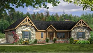Ranch House Blueprints by DFD House Plans