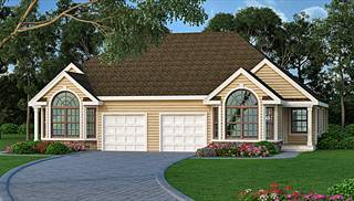 Affordable Duplex House Plans By DFD House Plans