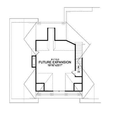 Bonus Second Floor Plan