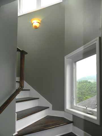 Stair to loft photo