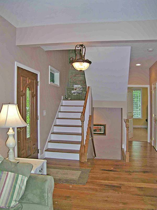 Foyer image of CRAFTSMAN COTTAGE II House Plan