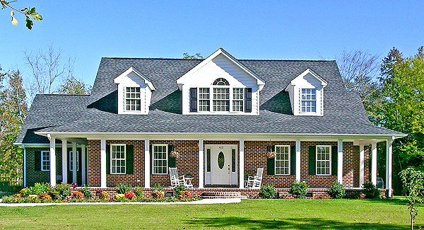 House Plans With Porches southern porch house plans Country House Plan With 3 Bedrooms And 25 Baths Plan 2802