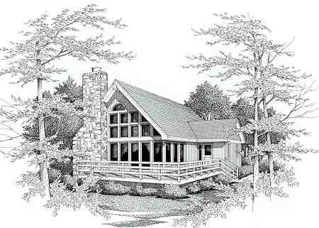 Front View image of IRIS House Plan