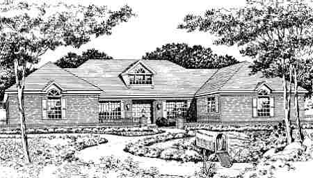 Front Rendering as per plans by DFD House Plans