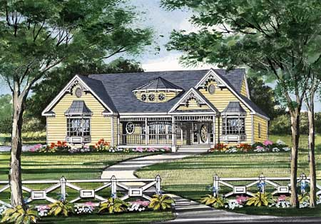 Front Rendering image of JASPER House Plan
