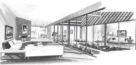 Living Room image of DOGWOOD House Plan