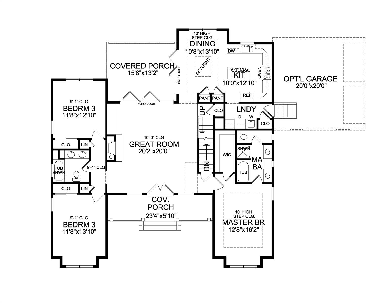 1st Floor image of Leesburg House Plan