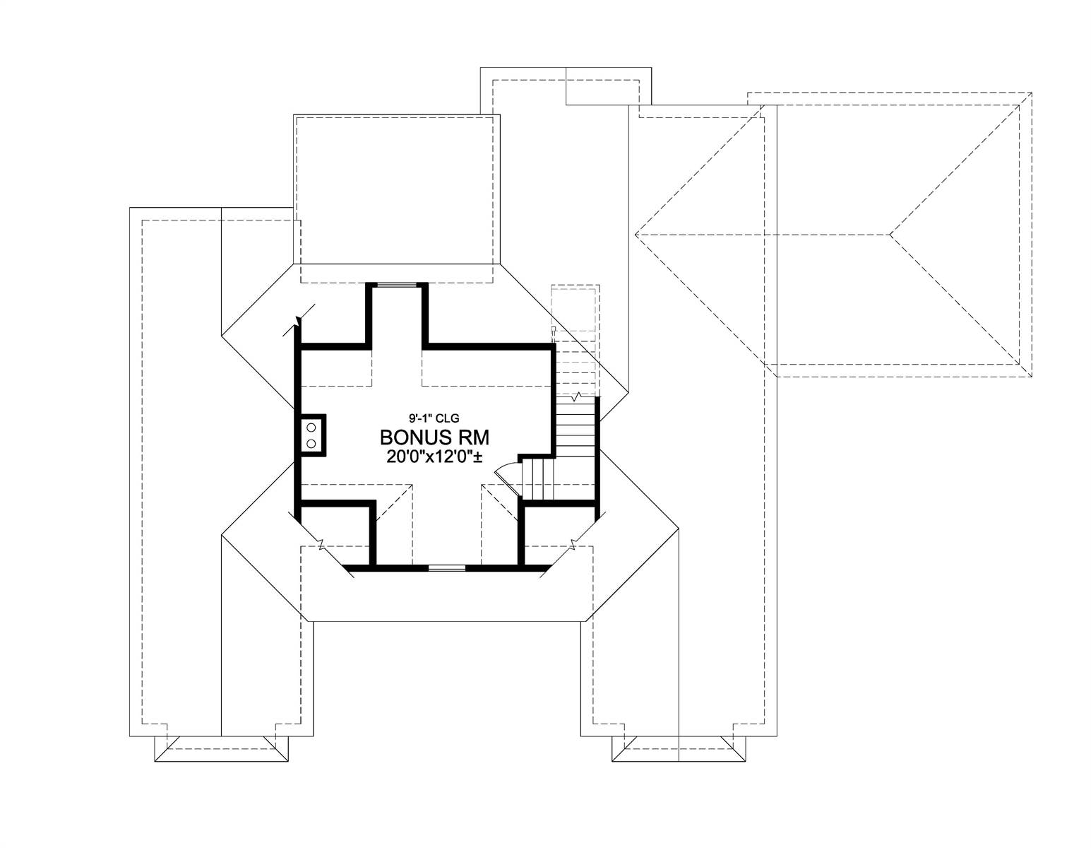 Bonus Plan image of Leesburg House Plan