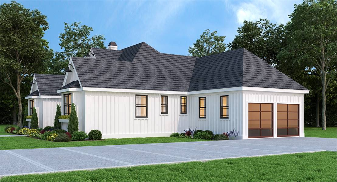 Right View image of Leesburg House Plan