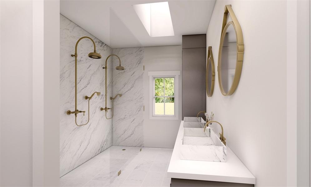 Master Bath image of Green Hills House Plan