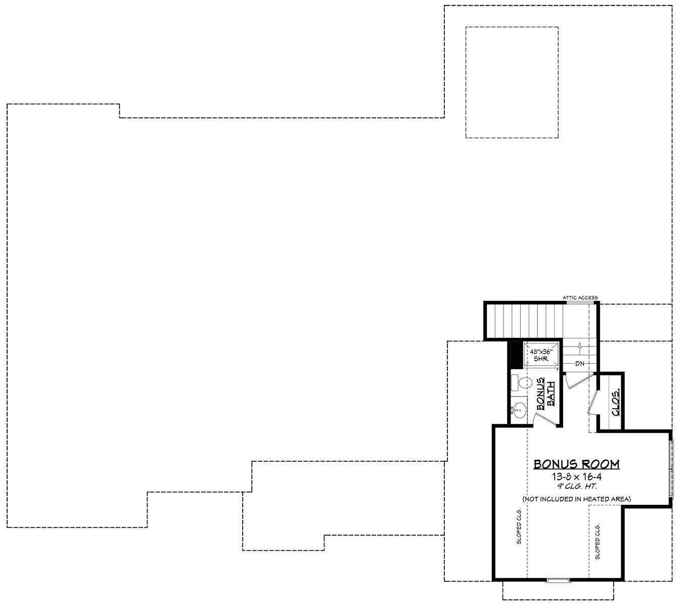 Bonus Plan image of Morning Trace House Plan