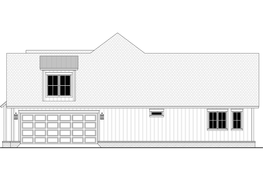 Right View image of Morning Trace House Plan