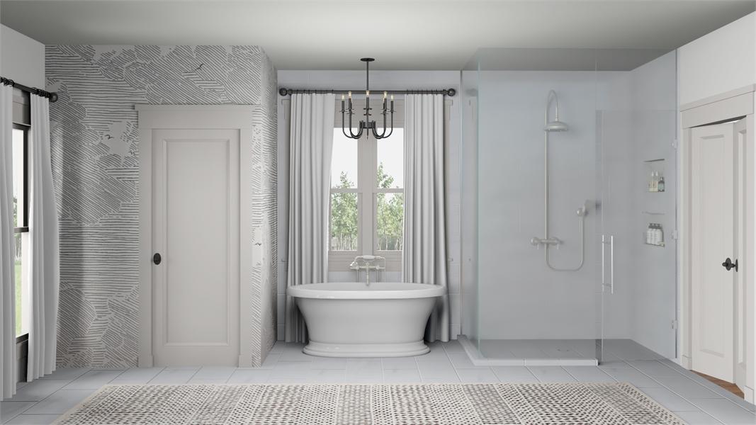 Master Bath image of Morning Trace House Plan