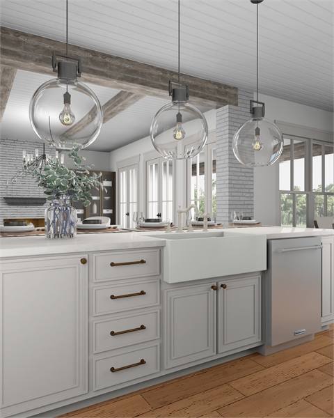 Kitchen image of Morning Trace House Plan
