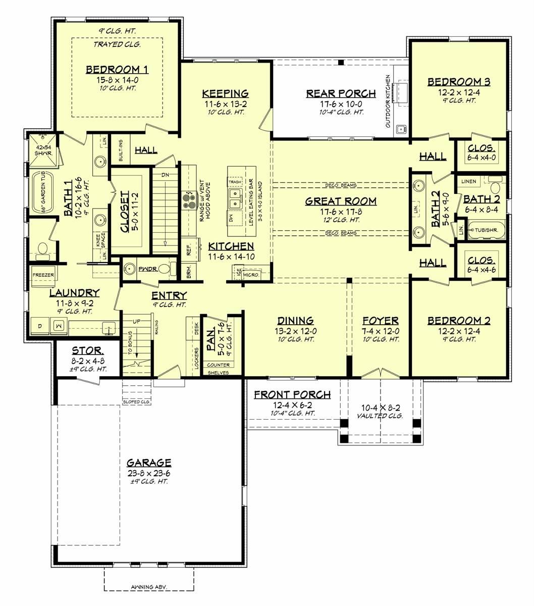 Basement Option Plan