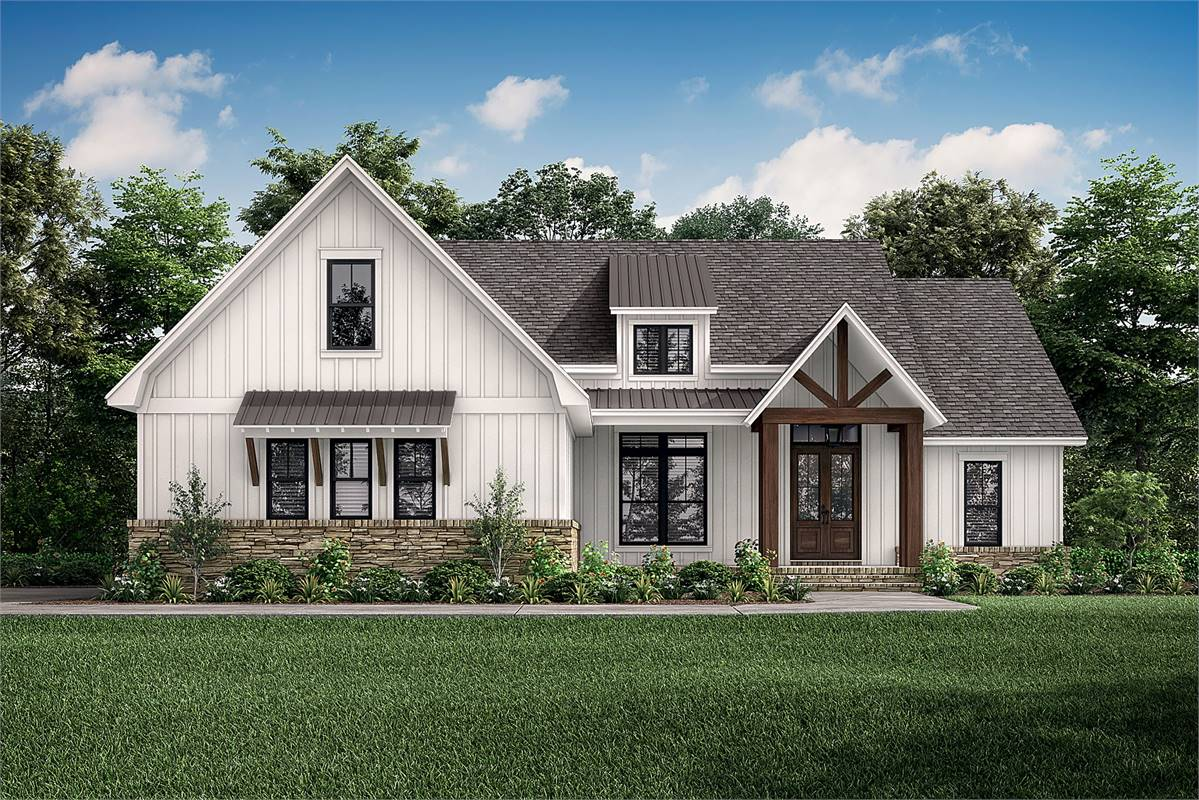 Front Daytime image of Richmond Avenue House Plan
