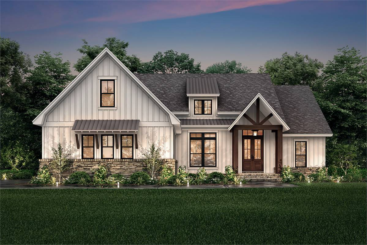 Front View image of Richmond Avenue House Plan