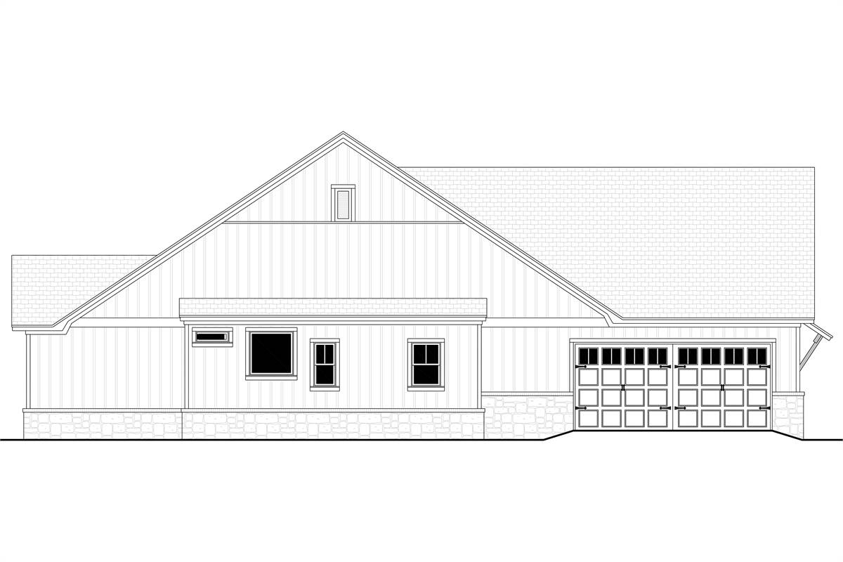 Left View image of Richmond Avenue House Plan