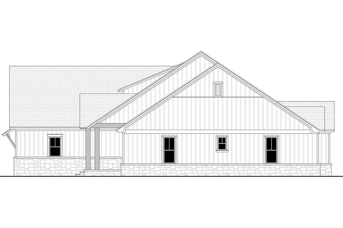 Right View image of Richmond Avenue House Plan