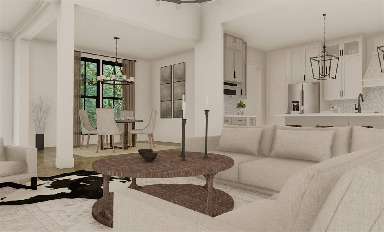 Dining Room image of Richmond Avenue House Plan