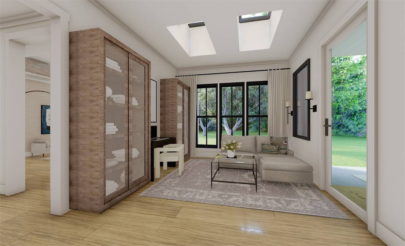 Keeping Room image of Richmond Avenue House Plan