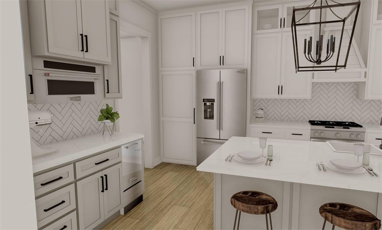 Kitchen image of Richmond Avenue House Plan