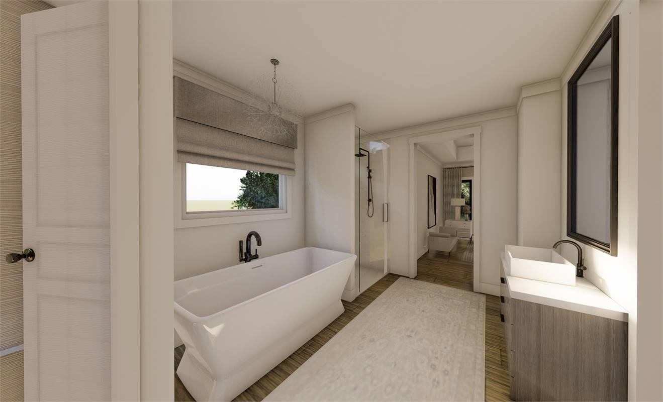 Master Bath image of Richmond Avenue House Plan