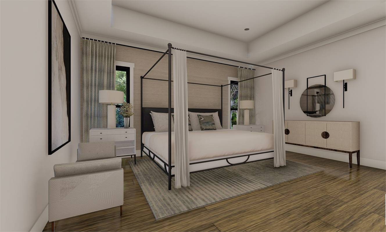 Master Bedroom image of Richmond Avenue House Plan