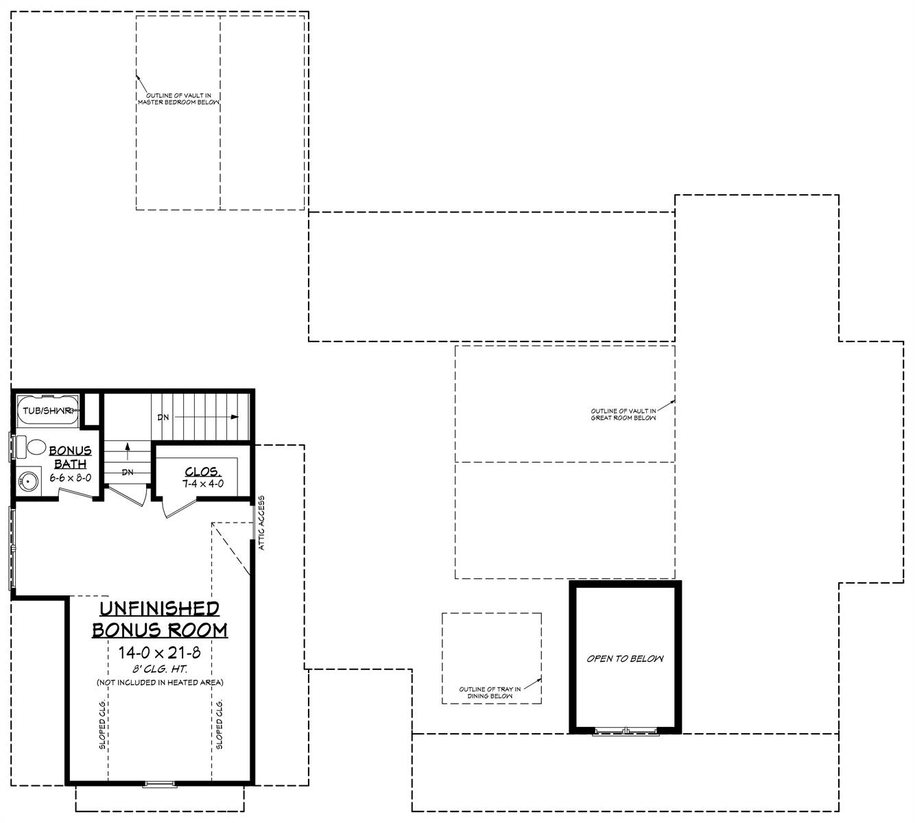 Bonus Floorplan by DFD House Plans